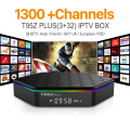 Europe Arabic French IPTV Channels Android 6.0 IPTV TV Box S912 T95ZPLUS 3G 32G Support Sport Canal Plus French Iptv Set Top Box