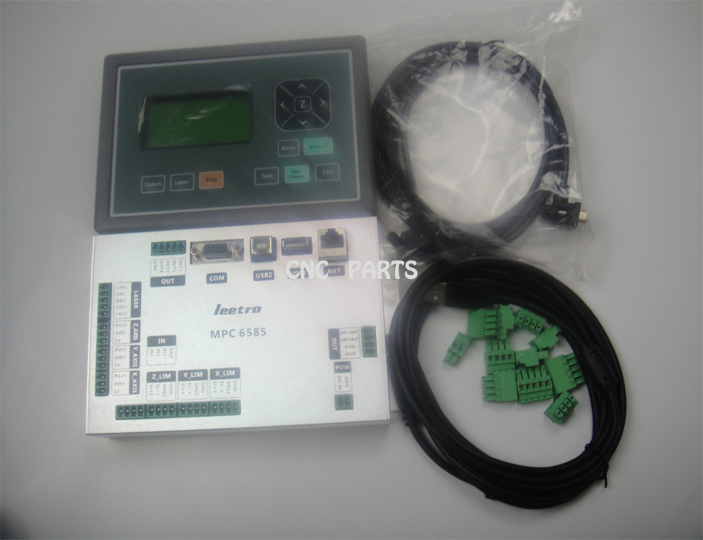 3 axis motion cnc control system leetro MPC6585 for laser machine.