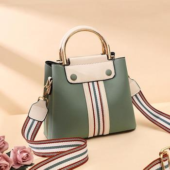 2019 new leather handbill shoulder bag for women casual cross-body bag with large capacity for women 1