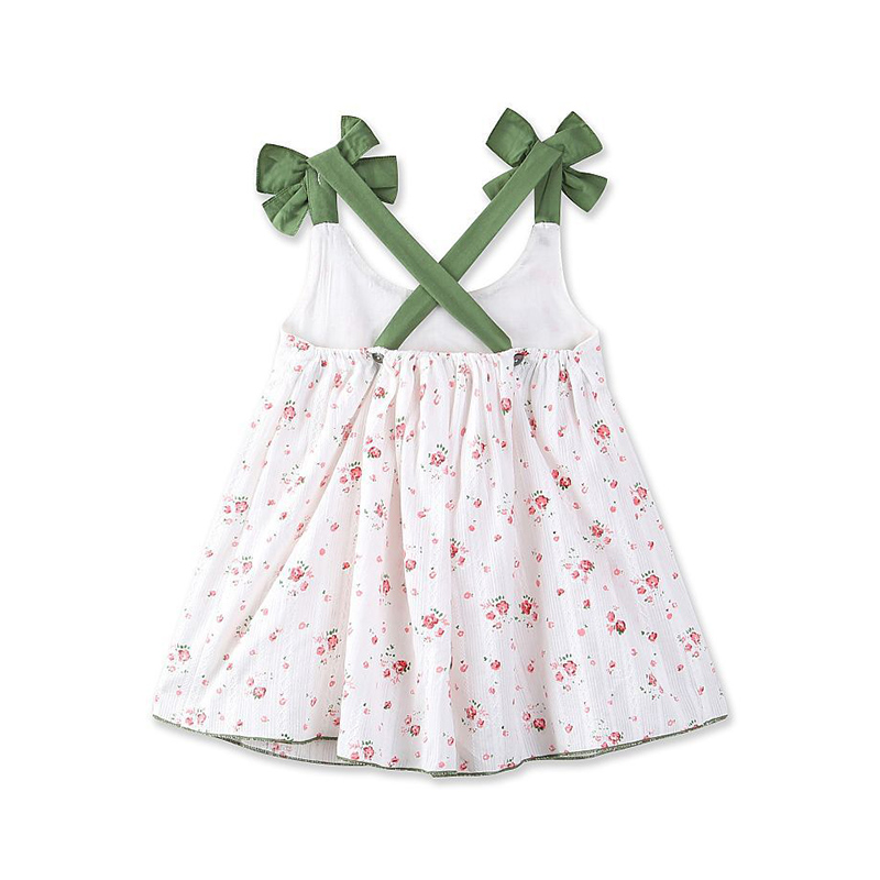 Baby Bebe Girls Sukienki dla dzieci Girls Sukienki bez rękawów - Ubrania dziecięce - Zdjęcie 4