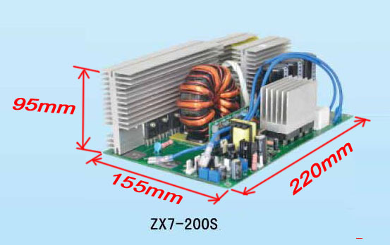 Placa de circuito de ZX7 250 IGBT PCB Placa individual para soldador - Equipos de soldadura - foto 2