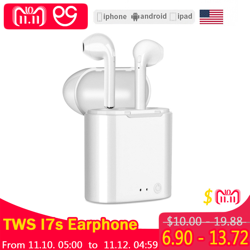 I7 I7S Mini Twins Bluetooth Earphones wireless headphones In-Ear Earbuds sport headset stereo For apple iPhone xiaomi Air pods favourite спот favourite lustige 1726 1u