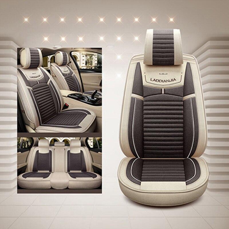 New Flax Universal auto car seat covers for kia ceed kia rio 3 spectra kia sportage