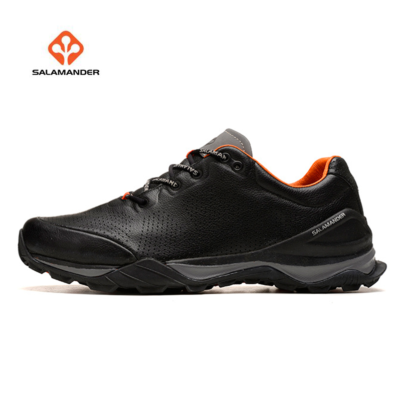 SALAMANDER Men's Leather Outdoor Hiking Trekking Sneakers Shoes For Men Sport Climbing Mountain Shoes Sneakers Woman