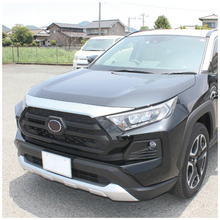 JY Stainless Steel Front Engine Hood Trim Shiny Polished Cover Car Styling Accessories For Toyota Rav4 V XA50 2019 up цены