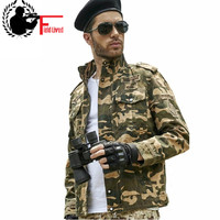 2019 M 3XL Style Military Jacket Men's Camouflage Jaqueta Camo Coat Combat Tactical Clothing Army green Gear us Uniform for Men