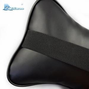 Image 5 - AIRSPEED Leather Car Pillow Neck Pillow Headrest Accessories Universal for BMW ///M E46 E90 E92 E60 E39 E36 F30 F10 F20 G30 E87