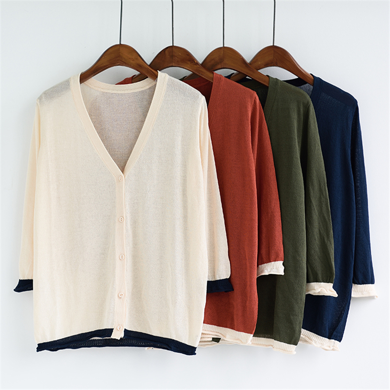 korean section cotton cardigan pull femme femme longue knitde sweater  mohair Thick Casaquinho tricot sueter mujer pulover -in Pullovers from  Women s ... 6f9038a378e
