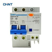 CHINT Residual Current  Breaker DZ47LE-32 2P C32 Voltage Protective Device