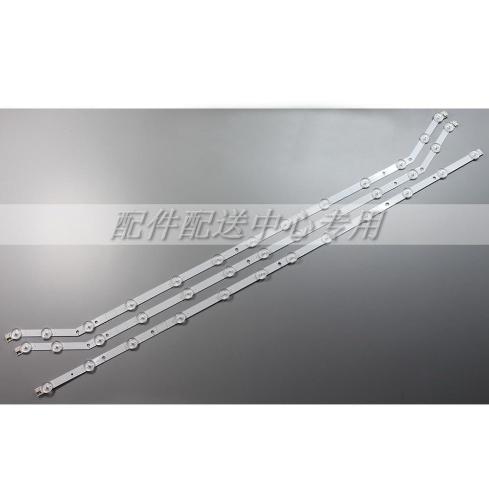 3pcsx 40 LED Backlight Strip for Samsung TV UN40H5003 D3GE 400SMA R2 2013SVS40 T2 3228N1 LM41