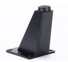 4 części/partia H: 9 CM ze stopu aluminium ze stopu aluminium Sofa stóp stolik do herbaty rozkładana Sofa łóżko szafka TV nóżki do mebli