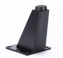 4 pezzi/lottp H: 9 CENTIMETRI In Lega di Alluminio Divano Piede Tea Table Divano Leg Letto Mobile TV Mobili Piedi