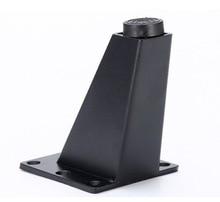 Купить с кэшбэком 4Pieces/Lot H:9CM Aluminum Alloy Sofa Foot Tea Table Sofa Leg Bed  TV Cabinet Furniture Feet