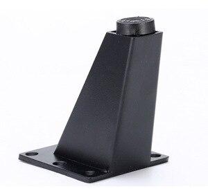 Image 1 - 4Pieces/Lot H:9CM Aluminum Alloy Sofa Foot Tea Table Sofa Leg Bed  TV Cabinet Furniture Feet