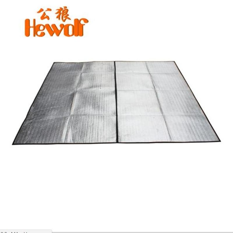 Storas aliuminio folijos atraminis putos drėgmės įrodymas matinis - Kempingai ir žygiai pėsčiomis - Nuotrauka 1
