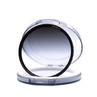 Wyatt 67/72/77/82mm Slim Nano MC Multi coated Graduated Neutral Density GC GRAY Soft GND 0.9 ND8 3 Stops Optical Glass Filter
