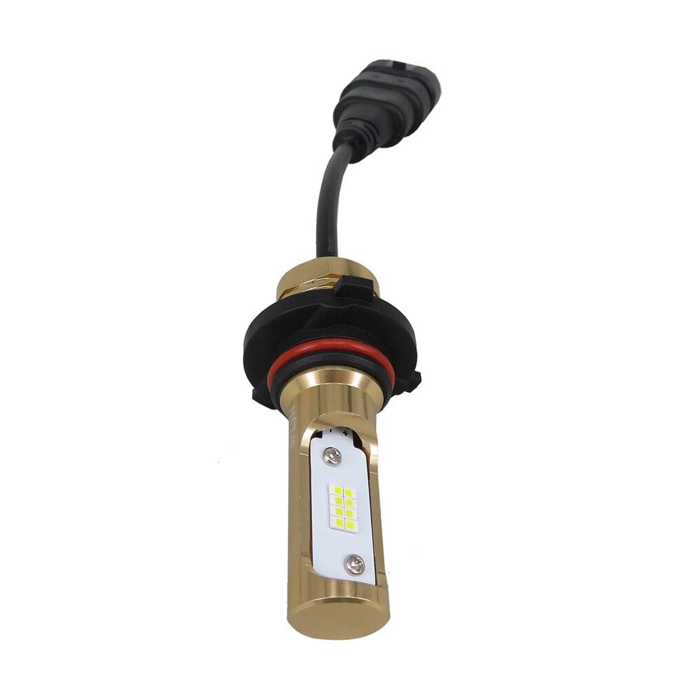 WLJH 2x80 W 1200LM H7 H8 9005 9006 Led-lampen LED Auto 12V 24V Autos tagfahrlicht DRL Auto Nebel Lampe Birne