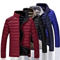 Fertilizer increased the new winter 2016 men down jacket The fashion leisure cultivate one's morality double coat M-7XL