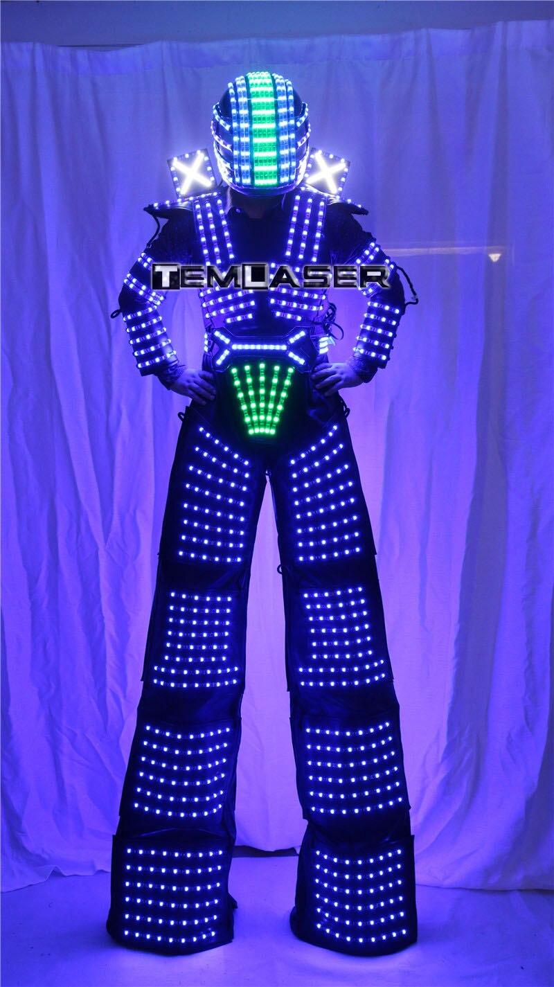 LED robot kostyumu David Guetta LED robot kostyumu - Şənlik aksesuarları - Fotoqrafiya 5