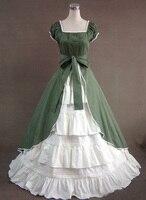 Элегантные женские Хэллоуин Выходные туфли на выпускной бал платье Лолита бальное платье Средневековый Ренессанс викторианской Готически