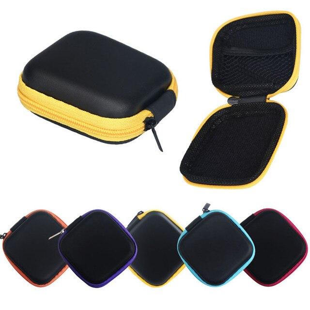 Fabrika fiyat Fermuar Saklama Çantası Taşıma çantası Sert Kulaklık SD Kart Alanı Nov9 Damla Nakliye Tutmak için