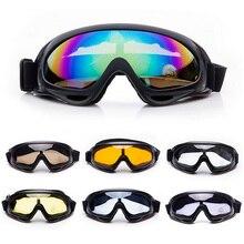Unisex пыль ветер пейнтбол airsoft защита тактический взрослых глаз игры очки