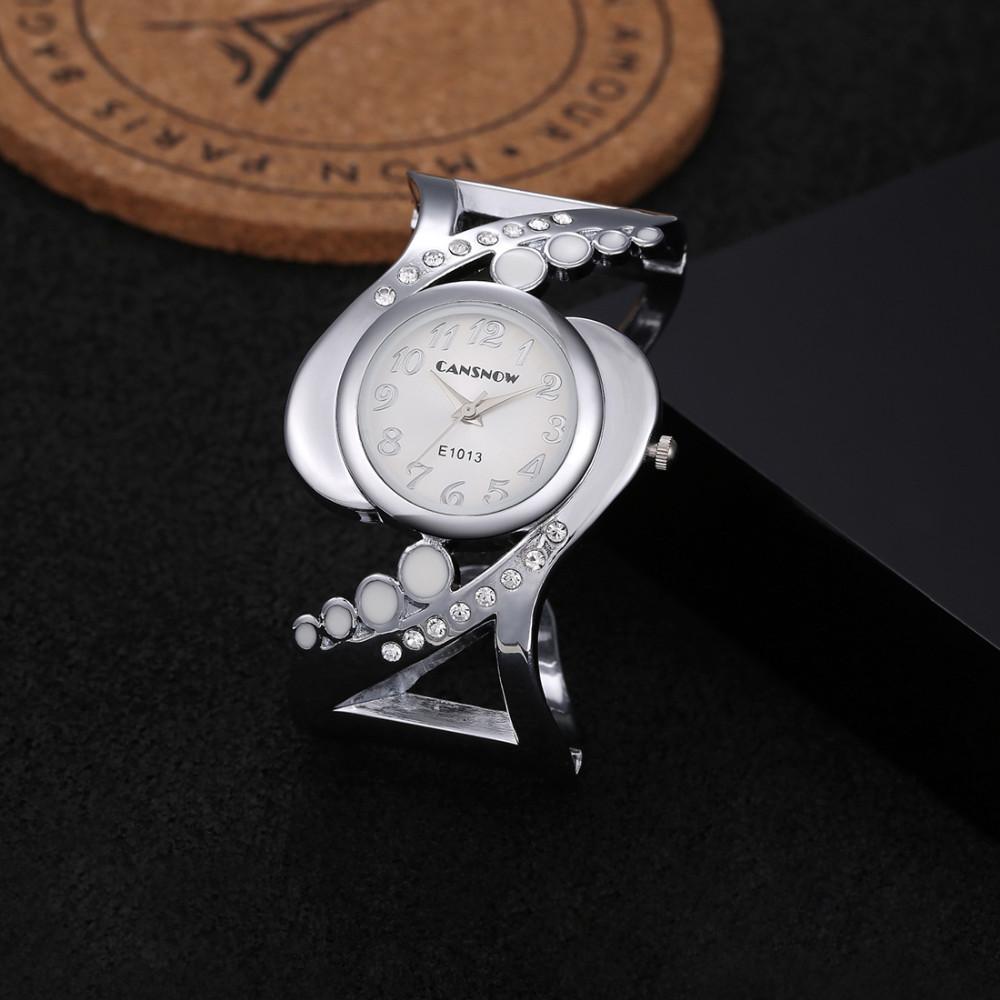 New design women bangle wristwatch quartz crystal luxury relojes rhinestone fashion female watches hot sale eleagnt mujer watch 19