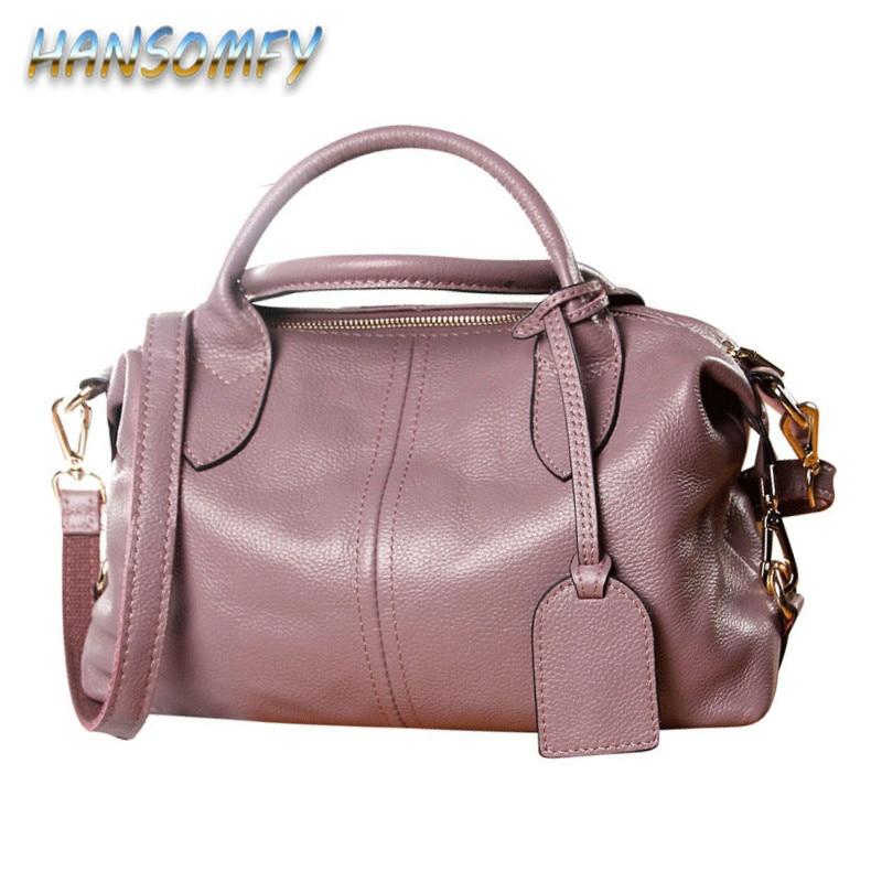 Dames de mode Sac en cuir véritable Femelle Femmes de sacs à Main de luxe décontracté Fourre-Tout D'épaule Messenger Sac pour femme Sac à Main YA-17