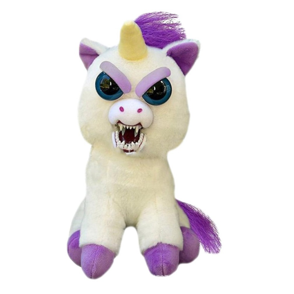 Change Face Feisty Pets Plush Toys With Funny Expression Stuffed Animal Doll For Kids Cute Prank toy Christmas Gift Hot Sale