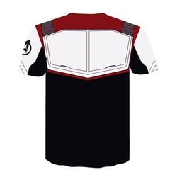 2019 Marvel The Avengers 4 Endgame Quantum Realm Cosplay Costume Hoodies Men Hooded Avengers Zipper End Game Sweatshirt Jacket 4