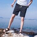 Мужская пляж брюки sell like hot cakes 2017 мужчин Чистый хлопок полноценно мода досуга 5 минут брюки пляж шорты/размер S-4XL
