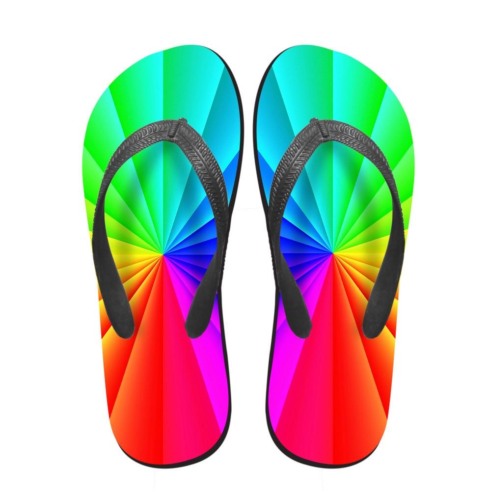 Schuhe Noisydesigns 3d Candy Farbe Frauen Lässig Flip-flops Sommer Haus Und Strand Rutschfeste Flipflops Frau Dame Weiche Pantoffel Mujer StäRkung Von Sehnen Und Knochen