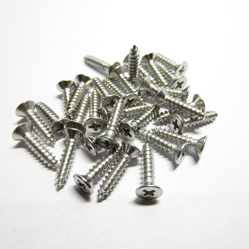Woodworking Stainless steel round pan head philips CSK self tapping screw M3 M4 M5Woodworking Stainless steel round pan head philips CSK self tapping screw M3 M4 M5