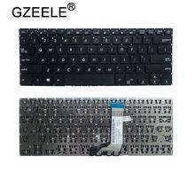 GZEELE klawiatura amerykańska dla ASUS X411 X411U X411UQ X411SC X411UV X411UA X411UN X411UF X406 S4200 UA onz UQ wersja angielska