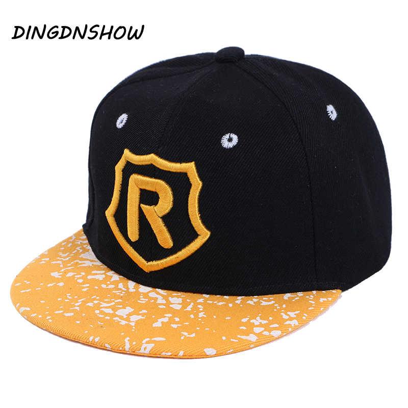 DINGDNSHOW  moda Hip Hop Cap algodón de los niños cartas bordado Gorras  Snapbacks gorra 63ec4fd8db7