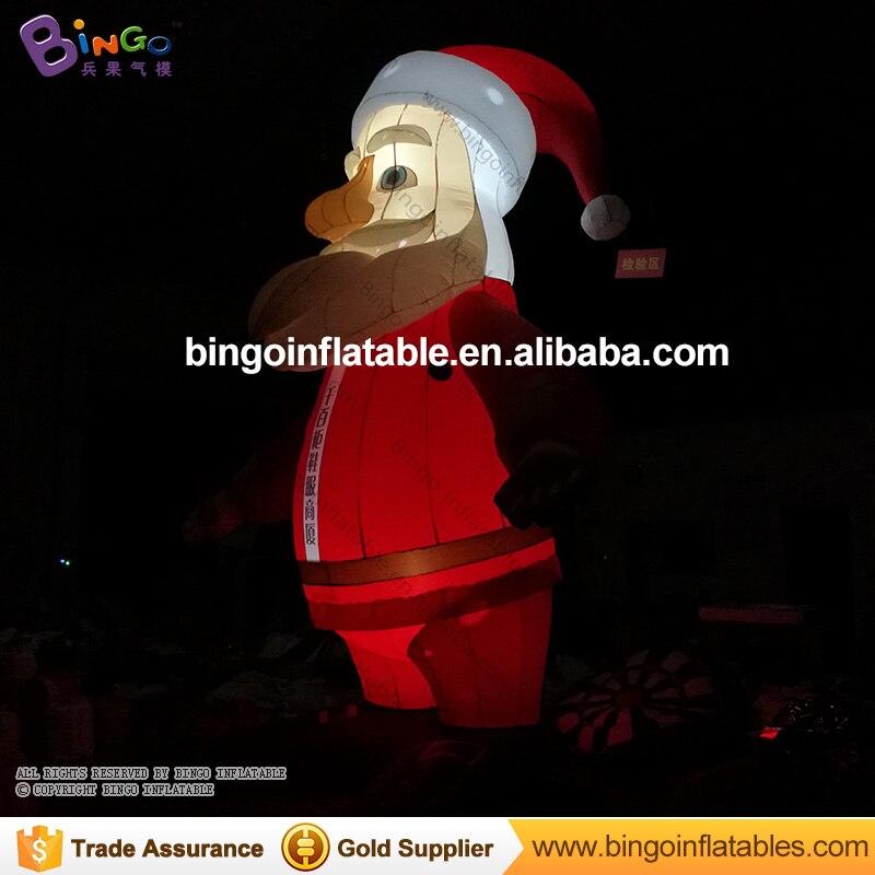 6 м Высокое Рождество надувные Санта Клаус украшения игрушки