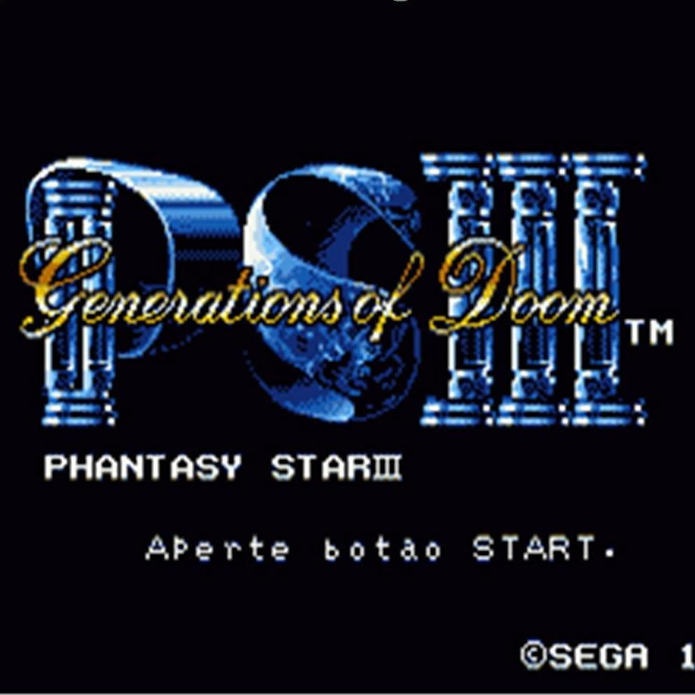 Phantasy Star 3 16 bit MD Game Card For Sega Mega Drive For Genesis