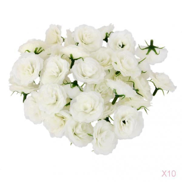 500pcs artificial silk flower head simulation fake rose flower heads 500pcs artificial silk flower head simulation fake rose flower heads bulk for wedding party decor white in artificial dried flowers from home garden on mightylinksfo