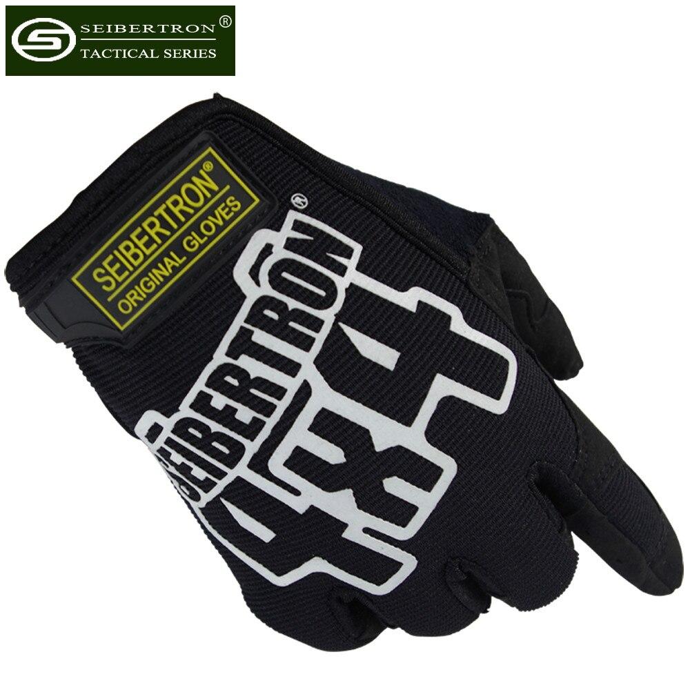 Nové Seobertron 4X4 taktické rukavice pro závod F1 Mechanik Horolezectví Camping Trip Cyklistika Střelba Policejní rukavice