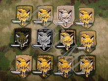 Metal Gear Solid MGS FOX HOUND Special Force Group Embroidered Patch
