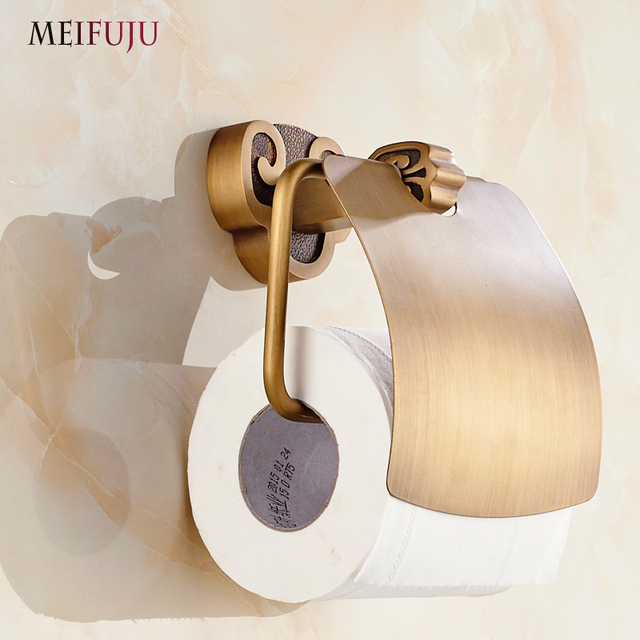 Aliexpress Com Buy Antique Toilet Paper Holder Rack With Shelf