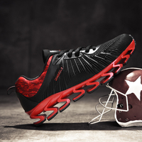 NEW Super Cool breathable running shoes men sneakers bounce summer outdoor sport shoes Rugby Professional Training shoe
