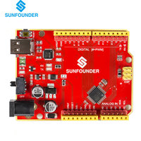 SunFounder MARS Board Compatible For Arduino UNO R3 ATmega328P Type C 2016 Latest Version