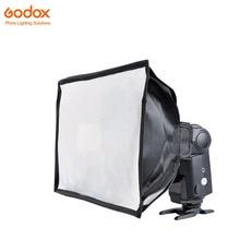 Godox SB2030 20*30 cm Universal Dobrável Mini Flash Difusor macio box para Neewer, Godox, Canon, Nikon Flash Como V850 V860