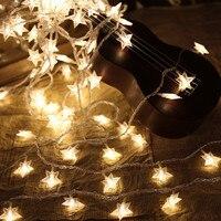 10M 100 LED Star String Lights AC110V 220V Holiday Lights For Garland Party Wedding Decoration Christmas