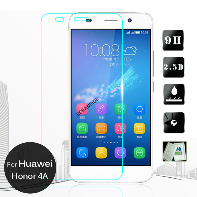 For Huawei Honor 4a Tempered Glass Screen Protector Safety