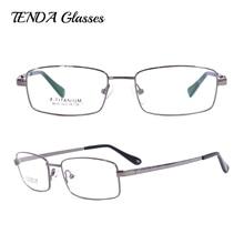 Männer Brillen Flexible Titan Brillengestelle Progressive Multifokale Gläser Monturas De Gafas