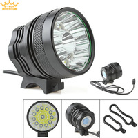 18000LM Waterproof 12 X CREE XM L T6 LED Super Bright Camping Fishing Bicycle Cycling Flashing