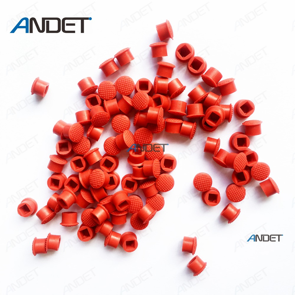 100 Pcs For Lenovo Thinkpad Trackpoint Red Ball Mouse Track Pointer Caps Soft Dome Pointing Cap For T480 T470 T460 T450 Keyboard Great Varieties