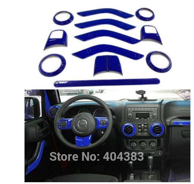 צבעים אביזרי פנים דלת לקצץ הגה מיזוג האוויר Vent ערכות כיסוי ידית דלת כרום ABS 4 2011-2016 4 דלתות